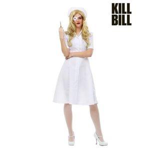 Kill Bill Elle Driver Nurse Costume for Women LG